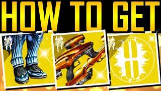 Destiny 2 - HΟW TO GET ALL EXOTICS! Vex Mythoclast! New Loot!