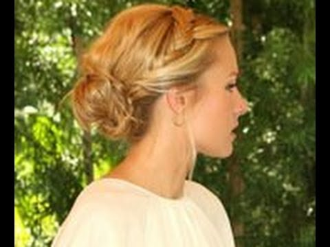 peinados recogidos informales