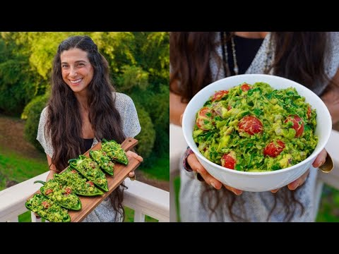 Best Chunky & Spicy Guacamole! 🥑 5 Minute Recipe + Lazy Dinner & Snack Ideas...
