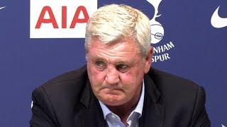 Tottenham 0-1 Newcastle - Steve Bruce Full Post Match Press Conference - Premier League