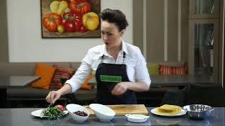 Полезные рецепты: такос с фасолью и помидорами.