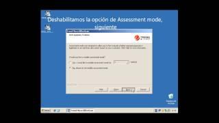 Instalación de OSCE 10.5