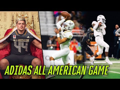 Clemson Commit Bryan Bresee Balls Out In Adidas ALL AMERICAN GAME! Bama Commit Bryce Young Wins MVP!