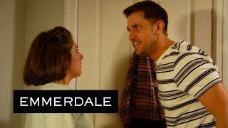 Emmerdale - Lee Attacks Victoria