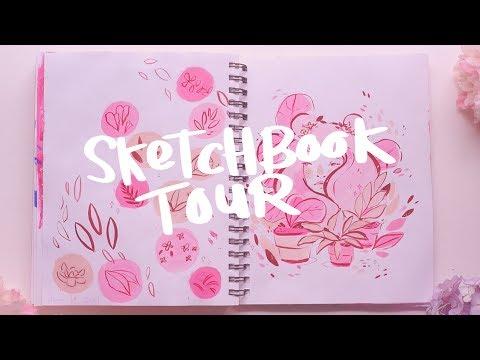 Sketchbook Tour March-June 2017 ~