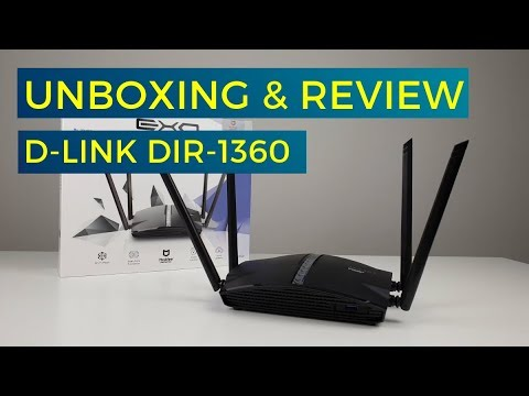Unboxing & Review D-LINK DIR-1360 - An Affordable Smart Mesh WiFi Router