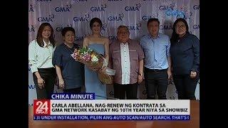Carla Abellana Nag Renew Ng Kontrata Sa GMA Network Kasabay Ng 10th Year Niya Sa Showbiz