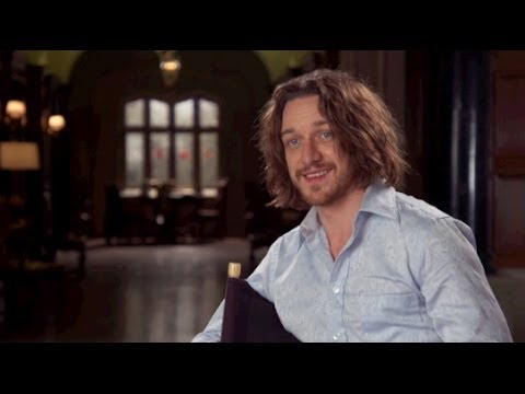 James McAvoy X-Men: Days of Future Past Interview - YouTube