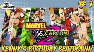 Marvel vs Capcom 2! Kenny