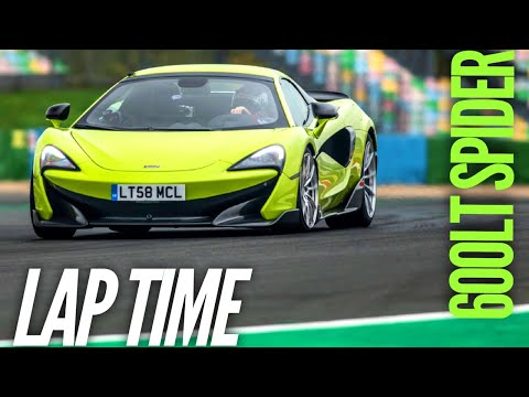 McLaren 600LT Spider : Lap time at Magny-Cours GP (COTY 2019)