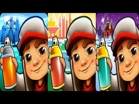 Subway Surfers Chicago vs Subway Surfers Saint Petersburg vs Subway Surfers Shanghai 2018