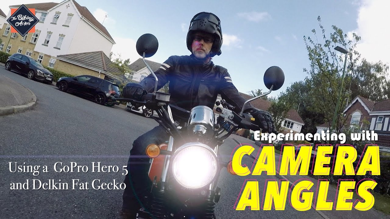 Motorcycle Mounting Positions using a GoPro and Delkin Fat Gecko