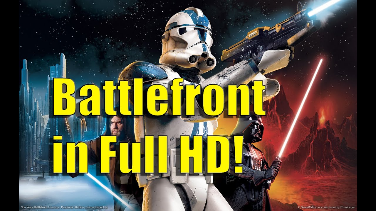 Play Star Wars Battlefront 2 In HD! (PC)