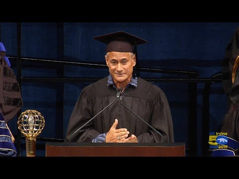 Greg Louganis gives UC Irvine 2015 commencement speech
