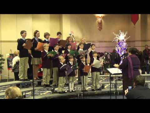 Pascal Academy sings at Festival of Tress