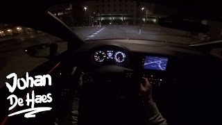 2017 Seat Leon FR 2.0 TDI 184hp POV NIGHT Test Drive