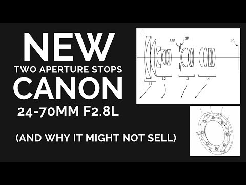NEW Canon 24-70 f2.8L with TWO Aperuture Stops (WHY It Might NOT Sell)