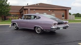 1966 AMC Marlin in Marquessa Mauve Paint & Engine Start Up on My Car Story with Lou Costabile