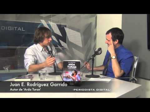 Juan Rodríguez Garrido, autor de 'Arda Turan'. 14-4-2014