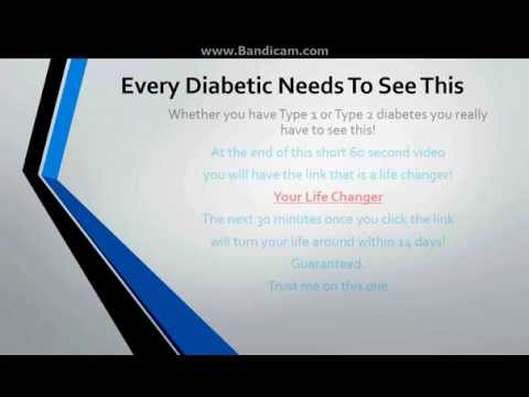 Every Diabetic Needs To See This!