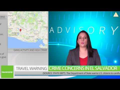 El Salvador Travel Warning