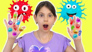 Wash Your Hands with Baby Shark song   Challenge Stay at Home wiht Naflandia and Ya Alisa