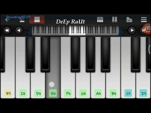 Yaha waha hai tu ( Yeh rishta kya kehlata hai) On mobile perfect piano