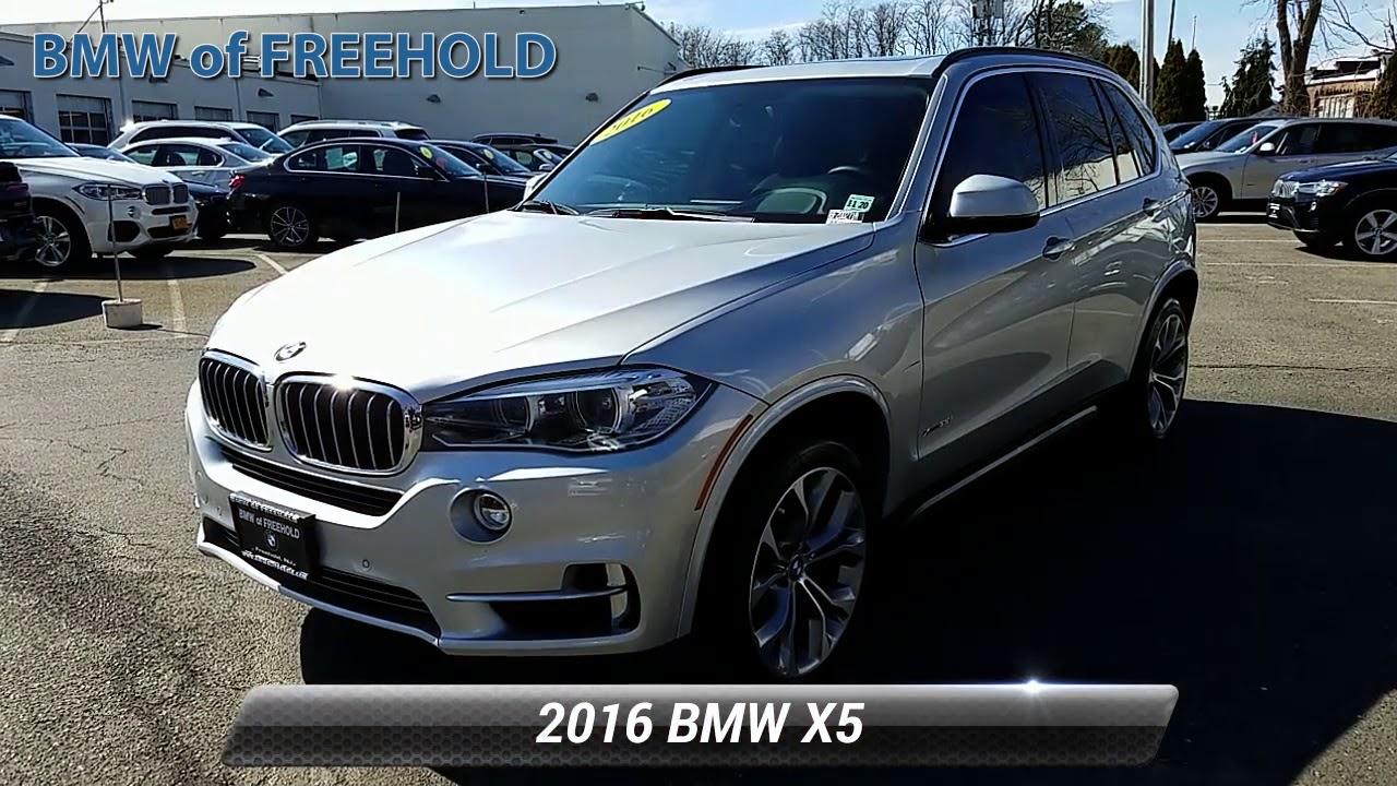 Used 2016 BMW X5 xDrive35i, Freehold, NJ BF200271A - YouTube