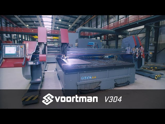 CNC Plasma Cutting Machine | Plate Processing | Voortman V304