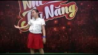 Nhí Tài Năng - Nguyễn Khánh Linh hát Em yêu hòa bình