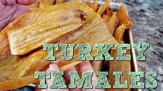 EASY Tamales Recipe   How To Make Tender Tamales   Turkey Tamales Recipe