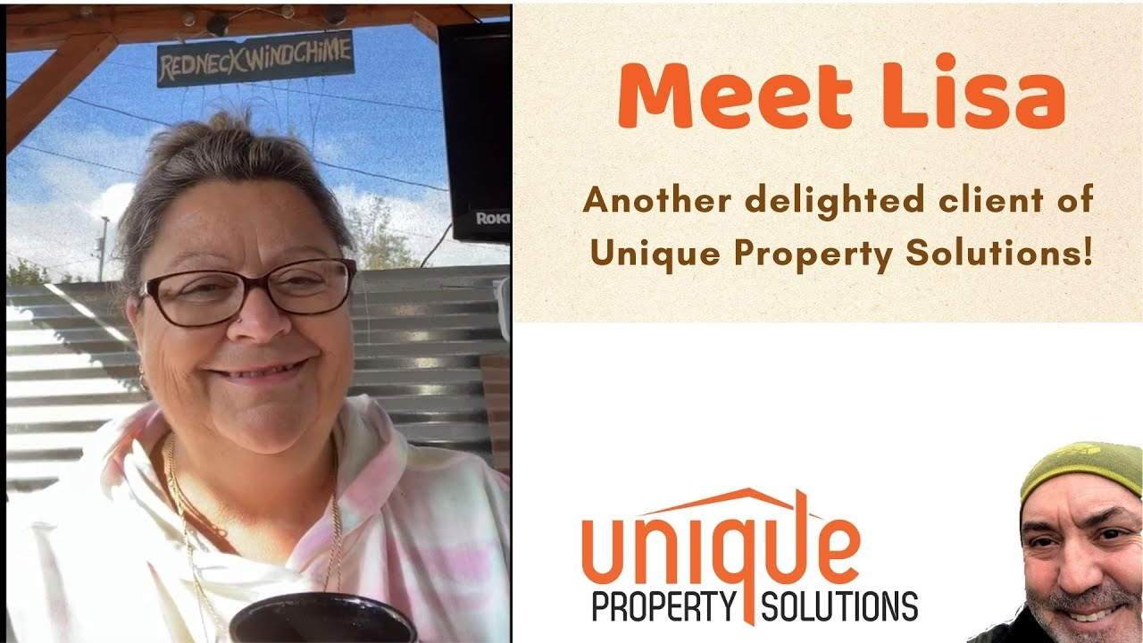 Another delighted client message!  Lisa sold her house as-is for cash.