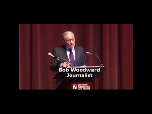 BOB WOODWARD: On Interviewing Trump About Winning & Cooperation