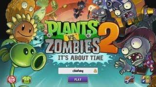 【舞秋風小遊戲時間】Plants vs. Zombies 2: Its About Time 植物大戰殭屍2 thumbnail