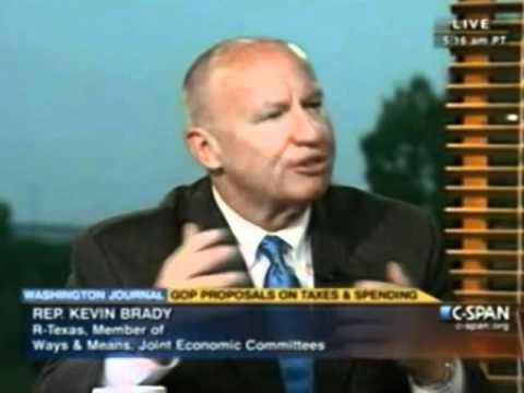 On Washington Journal Talking about Bush Tax Cuts