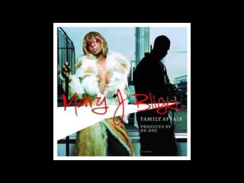Mary J Blige - Family Affair (DJ K radio mix) [HQ audio remaster]