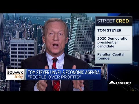 Billionaire Tom Steyer is using his fossil fuel profits to fight climate ...