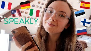Speakly language app review // Learn a language 5x faster!? | honest experience and opinions screenshot 3