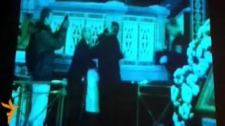Оригинальное видео Pussy Riots из ХХС(На пресс-конференции в клубе