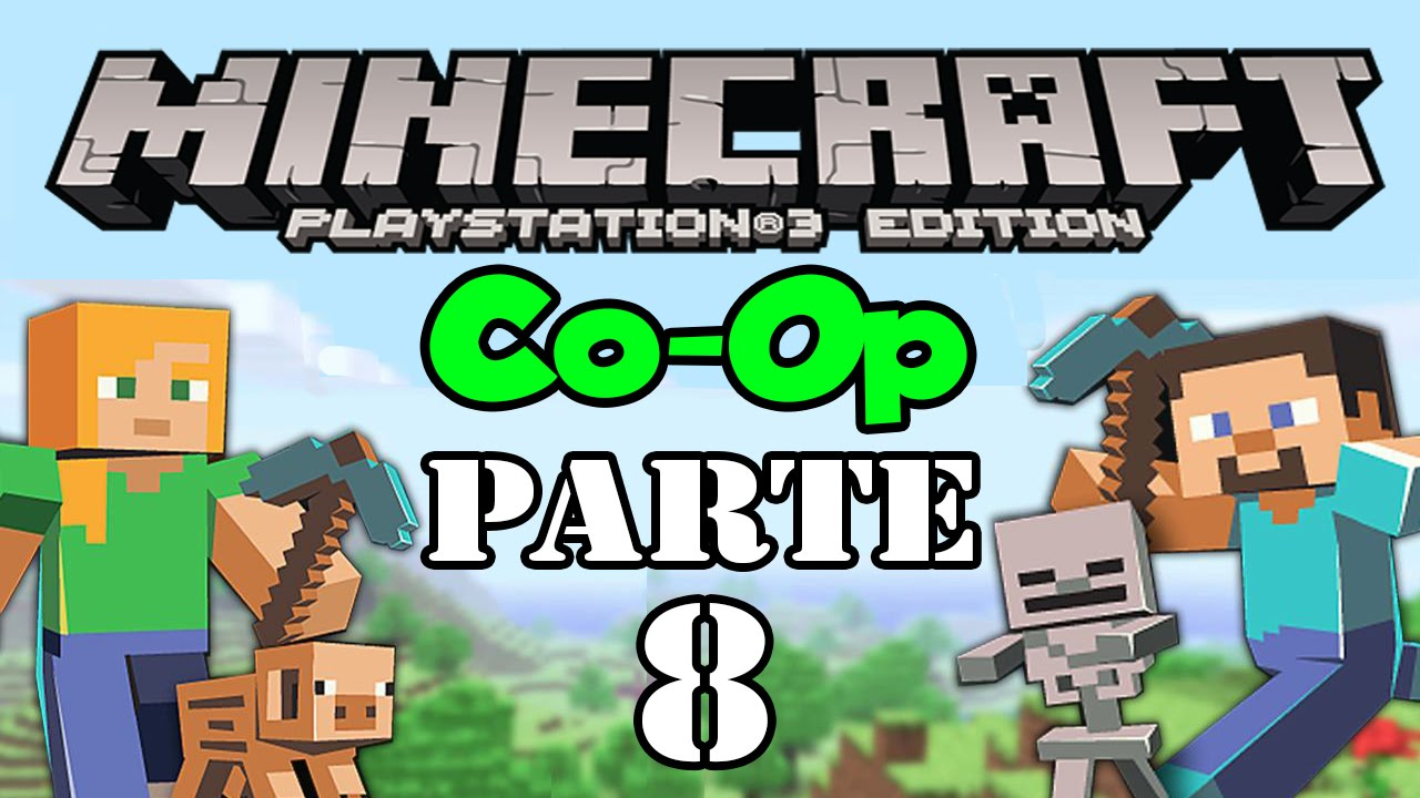 Let's Play: Minecraft PS3 Co-Op - Parte 8 - YouTube