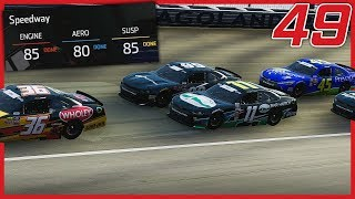 2 MORE EQUIPMENT UPGRADES! | NASCAR Heat 3 Career Mode | Xfinity Series Race 14/15 of 33