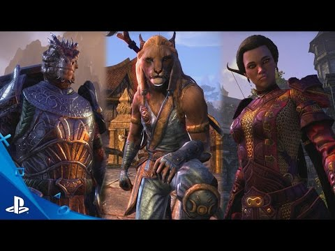 The Elder Scrolls Online - Introducing One Tamriel Trailer   PS4