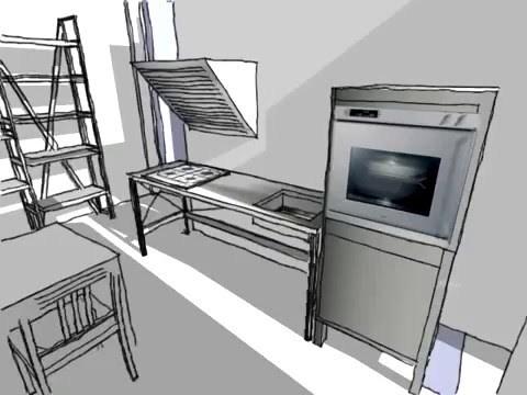 progetto cucina bulthaup b3 system 20 ianann www oggetti it www lauroghedini com youtube. Black Bedroom Furniture Sets. Home Design Ideas