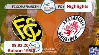 Highlights: FC Schaffhausen vs FC Winterthur (08.02.2020)