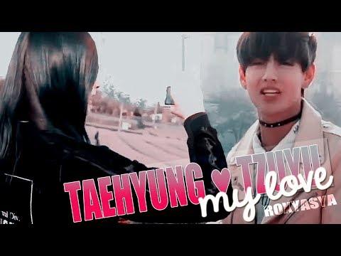Taehyung 💜 Tzuyu│my love [ bts ● twice / crossover mv / #taetzu ]