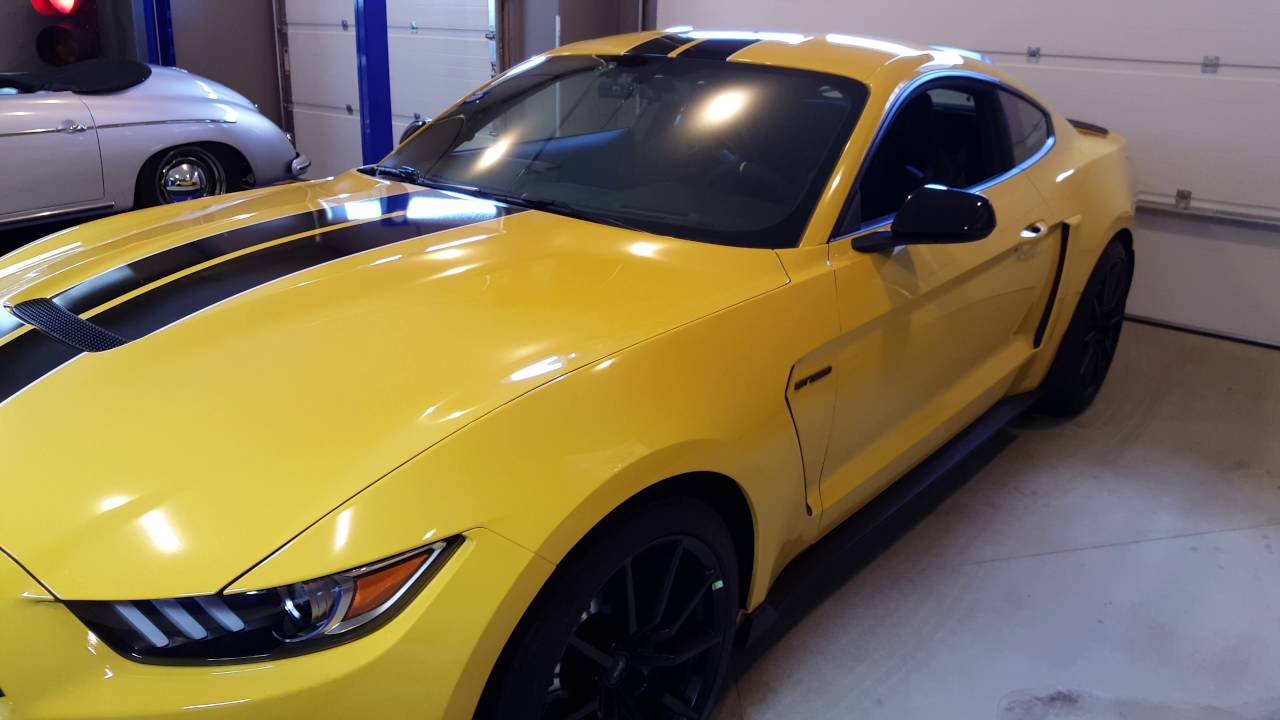 Shelby Gt500 2016 >> SHELBY GT350 ROUSH SIDE SCOOP INSTALL - YouTube