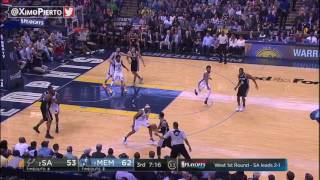 San Antonio Spurs vs Memphis Grizzlies   Full Game Highlights  Game 4  Apr 22 2017  NBA Playoffs