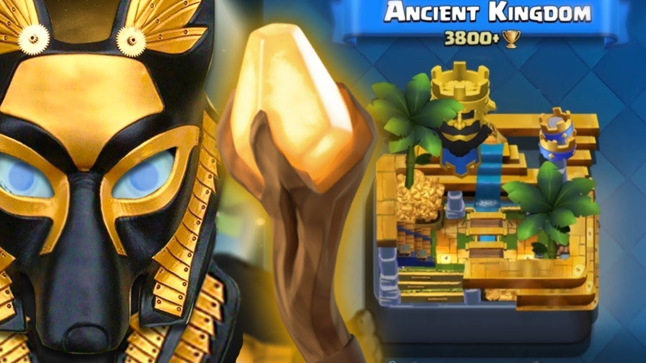 Pokemon Go Arena Karte.Clash Royale New Ancient Arena New Card The Anubis Gameplay Clash Royale Concept