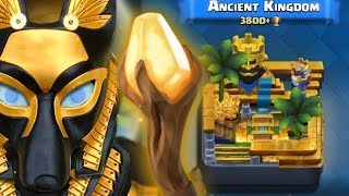 Clash Royale New Ancient Arena + New Card - The Anubis ! (GamePlay) | Clash Royale Concept!