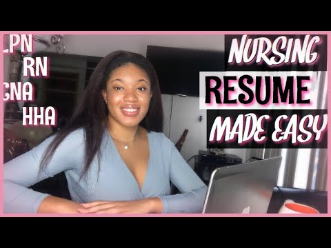 PEERFECT NURSING RESUME|RESUME GUIDE FOR NURSING PROFESSIONALS